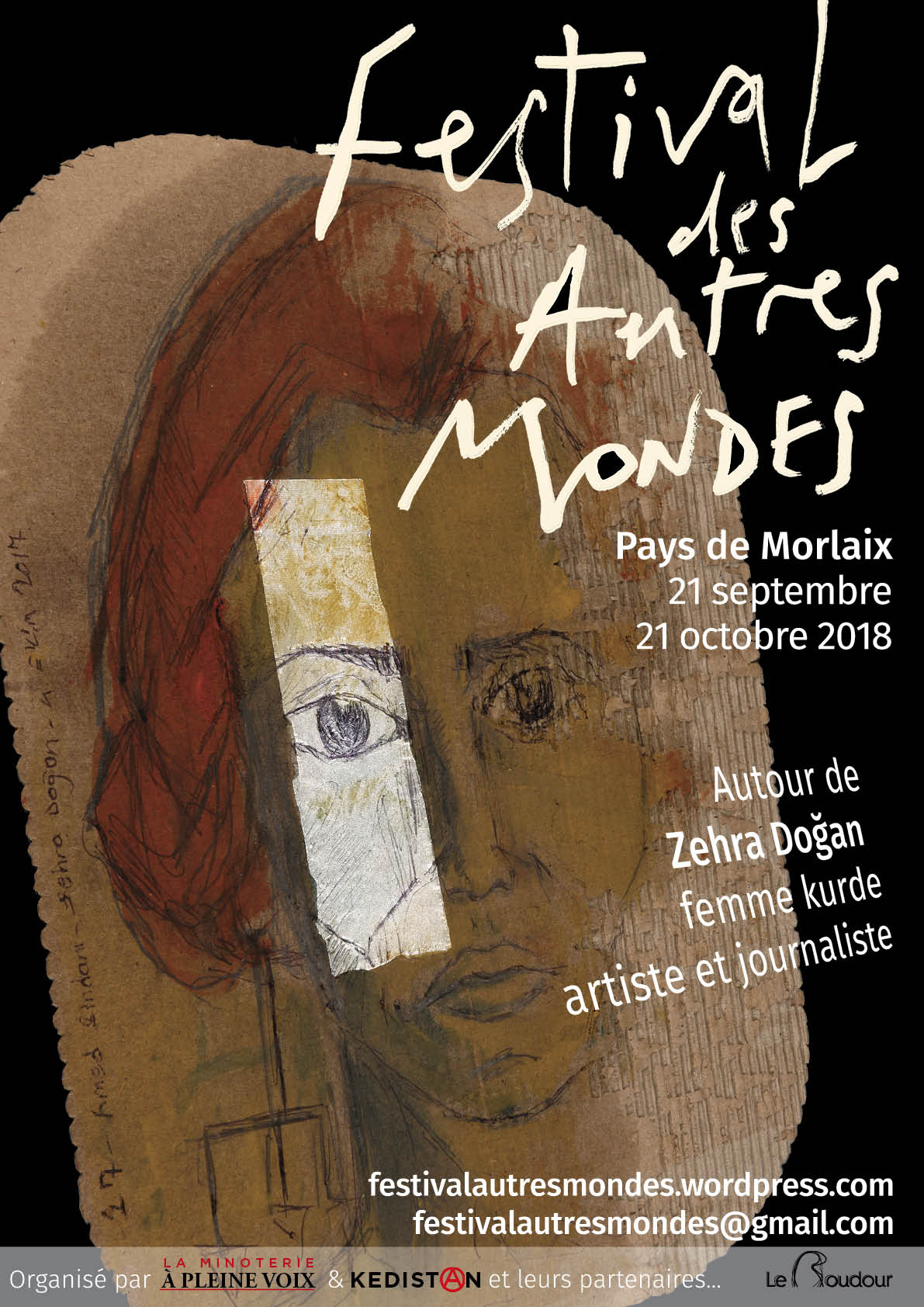 Affiche Festival des Autres Mondes Zehra Dogan
