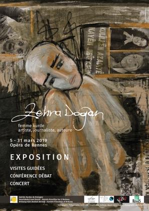 Zehra Dogan Rennes Fransa France exposition